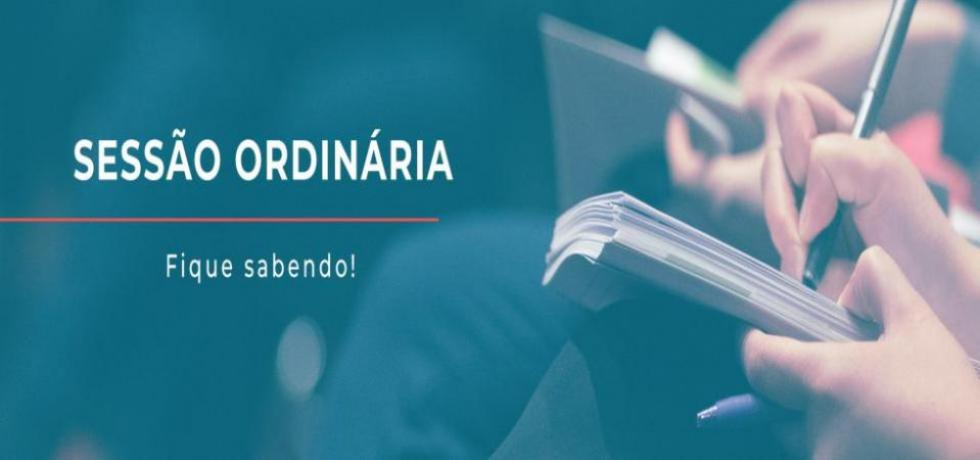 Convite para 4ª Sessão Ordinária