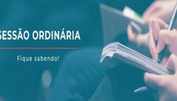 Capa Sessão Ordinária